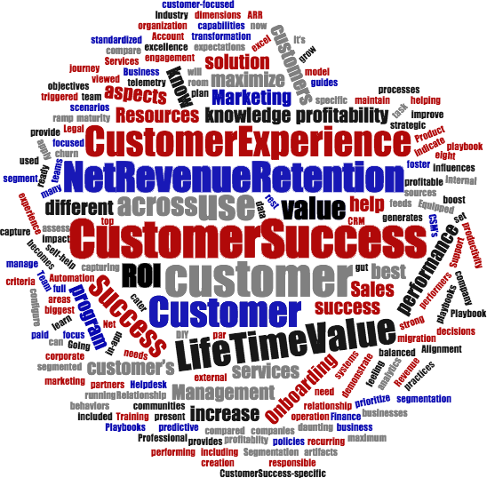 CStuners Customer Success Consulting wordcloud
